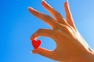 Little Red Heart - Obrázkek zdarma pro 320x240
