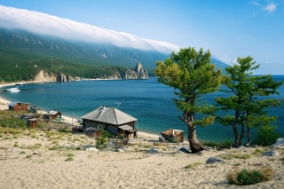 Lake Baikal sfondi gratuiti per cellulari Android, iPhone, iPad e desktop
