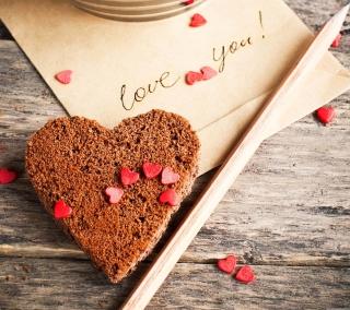 Love Fortune Cookie - Obrázkek zdarma pro 1024x1024
