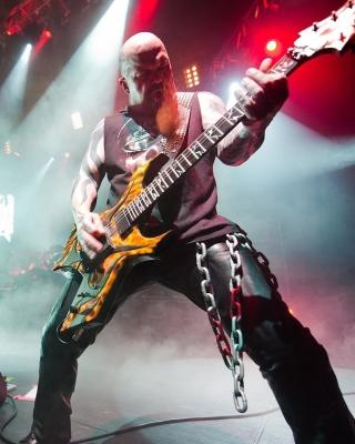 Slayer American thrash metal band - Obrázkek zdarma pro 360x400