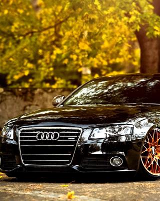 Audi A4 with New Rims - Obrázkek zdarma pro 320x480