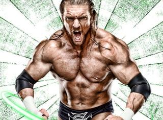 Triple H - Obrázkek zdarma pro 800x480