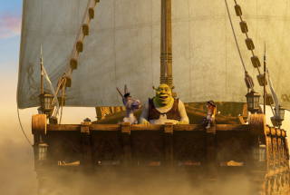 Shrek 3 - Obrázkek zdarma pro 1366x768