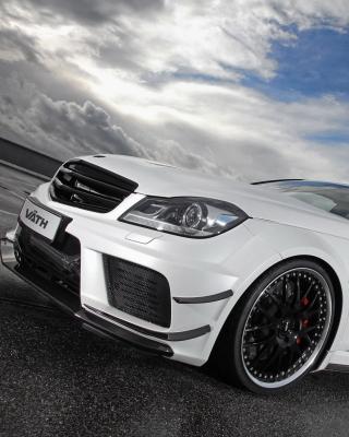 Mercedes AMG C63 Coupe - Obrázkek zdarma pro 320x480