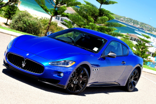 Maserati GranTurismo S MC Shift Background for Android, iPhone and iPad