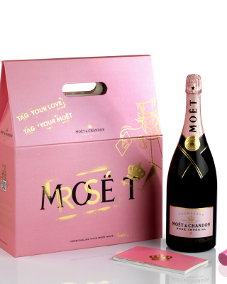 Moet & Chandon Finest Vintage Champagne - Obrázkek zdarma pro 320x480