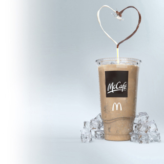 Milkshake from McCafe - Obrázkek zdarma pro iPad