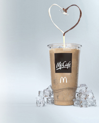 Milkshake from McCafe - Obrázkek zdarma pro 132x176