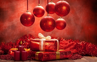 Christmas Decoration Background for Android, iPhone and iPad
