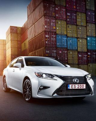 Lexus ES 200 White - Obrázkek zdarma pro 360x400