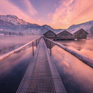 Frozen landscape - Obrázkek zdarma pro iPad mini 2