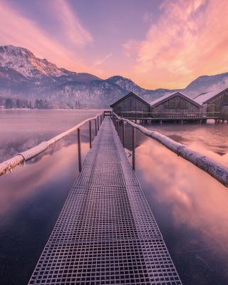 Frozen landscape - Obrázkek zdarma pro 320x480
