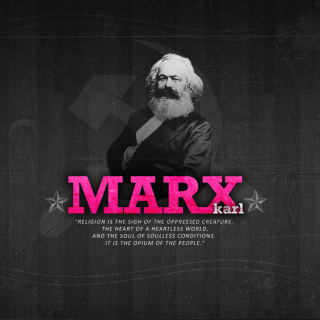 Politician Karl Marx - Obrázkek zdarma pro iPad