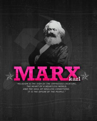 Politician Karl Marx - Obrázkek zdarma pro Nokia Asha 303