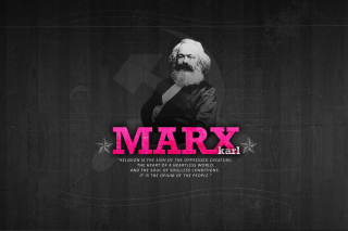 Politician Karl Marx Picture for Android, iPhone and iPad