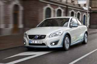 Volvo C30 Electric Car Wallpaper for Android, iPhone and iPad