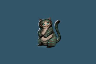 Cheshire Cat Background for Android, iPhone and iPad