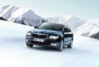 Skoda Superb Background for Android, iPhone and iPad