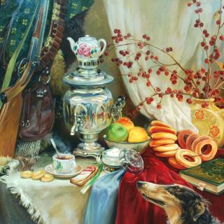 Painting, Still Life - Obrázkek zdarma pro 1024x1024