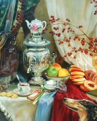 Painting, Still Life - Obrázkek zdarma pro Nokia Asha 203