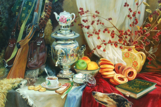 Painting, Still Life - Obrázkek zdarma pro Samsung Galaxy S6
