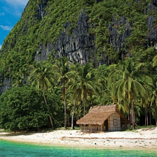 El Nido, Palawan on Philippines - Obrázkek zdarma pro iPad 2