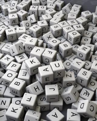 Letters - Obrázkek zdarma pro iPhone 4S