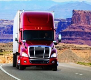 Truck Freightliner - Obrázkek zdarma pro iPad 2