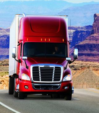 Truck Freightliner - Obrázkek zdarma pro 480x854
