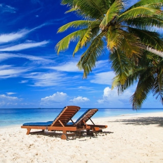 Luxury Resorts Maldives - Obrázkek zdarma pro iPad 3