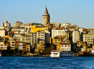 Galata Tower Background for Android, iPhone and iPad