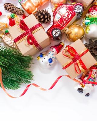Christmas Tree Toys - Obrázkek zdarma pro iPhone 5