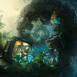 Customise Art Picture - Obrázkek zdarma pro iPad