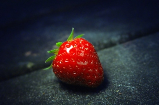 Red Strawberry Wallpaper for Android, iPhone and iPad