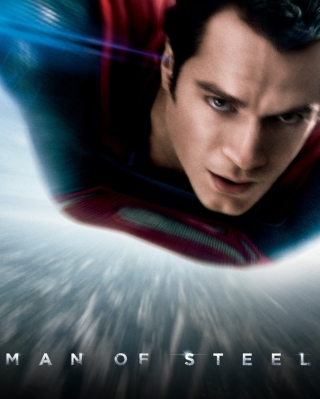 Man Of Steel Dc Comics Superhero - Obrázkek zdarma pro 240x320