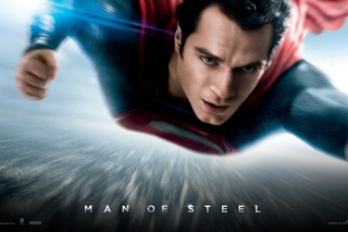 Man Of Steel Dc Comics Superhero - Obrázkek zdarma pro Nokia Asha 302