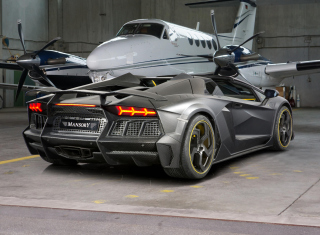 Free Lamborghini Aventador V12 LP1600 Mansory Picture for Android, iPhone and iPad