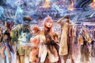 Final Fantasy XIV - Obrázkek zdarma pro Nokia X2-01