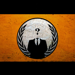 Anonymous Hacktivist - Obrázkek zdarma pro iPad mini