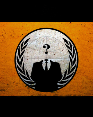 Anonymous Hacktivist - Obrázkek zdarma pro Nokia X1-00