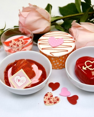 Dessert for My Love - Obrázkek zdarma pro Nokia Asha 306