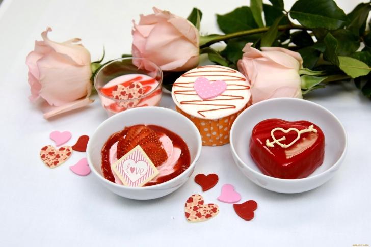 Dessert for My Love wallpaper