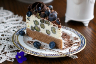 Blueberry Cake Picture for Android, iPhone and iPad