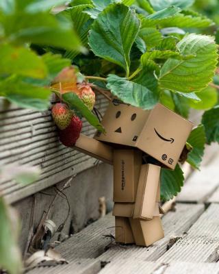 Amazons Mascot Danbo - Obrázkek zdarma pro Nokia Asha 305