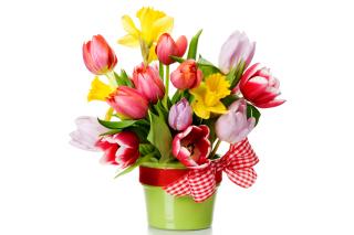 Картинка Fresh Spring Bouquet для телефона