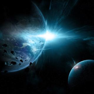 Planet System - Obrázkek zdarma pro 1024x1024