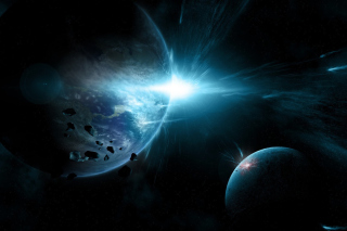 Planet System - Obrázkek zdarma pro 1024x768