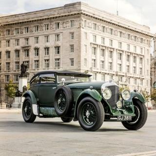 Bentley Speed Six 1930 - Obrázkek zdarma pro 208x208
