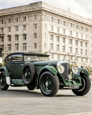 Bentley Speed Six 1930 - Obrázkek zdarma pro Nokia 206 Asha