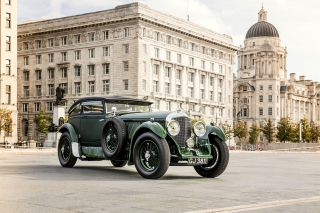 Bentley Speed Six 1930 Background for Android, iPhone and iPad